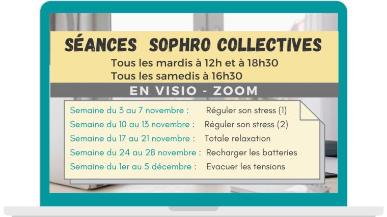 Quelles thématiques Sophro en novembre ?